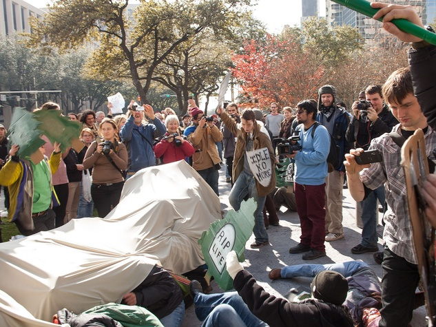 Keystone Pipeline protest, January 2013
