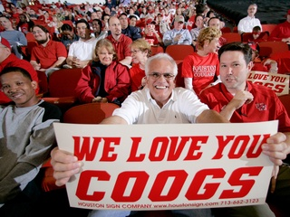 Places-Unique-University of Houston-Cougar fans