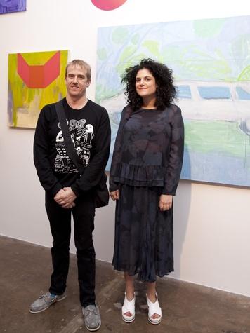 Artist Adrianne Rubinstein and Tyson Reeder
