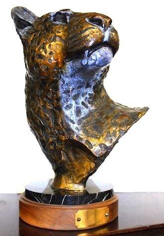 Michael Brown auction jaguar sculpture