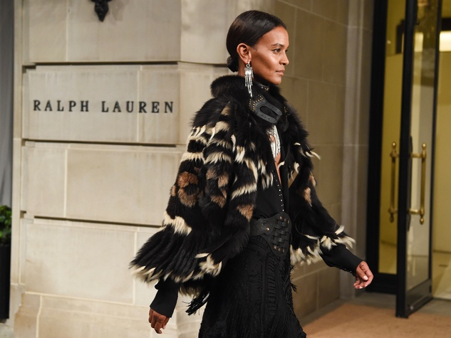Ralph Lauren fall collection at mansion