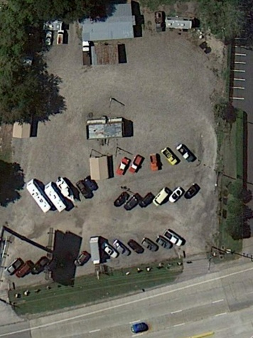 My Food Park Houston Texas aerial Google from from two years ago