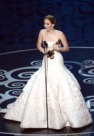 Jennifer Lawrence, Academy Awards, February 2013