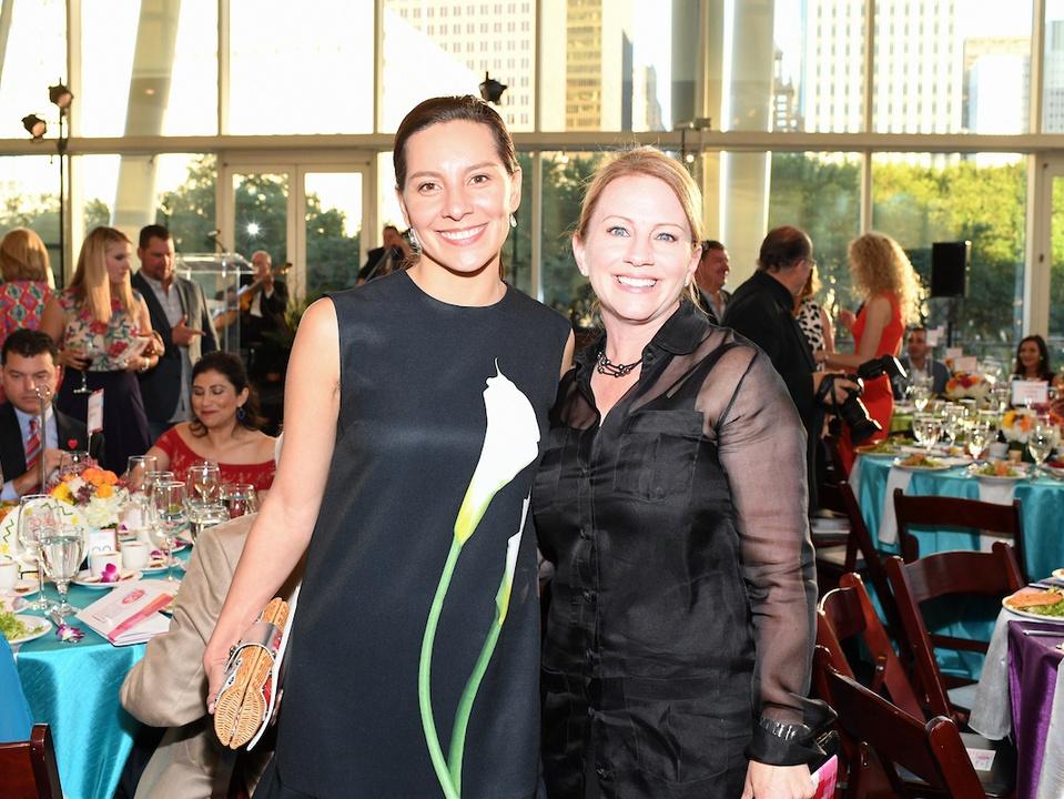 Houston, Casa de Esperanza Building Hope for Children Gala, April 2017, Miriam Zatarain, Jan Mendenhall