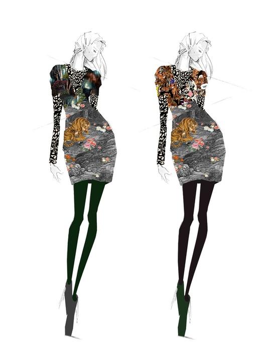 Clifford New York Fashion Week Fall 2015 February 2015 Nicole Miller