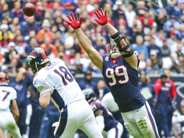Peyton Manning J.J. Watt Texans