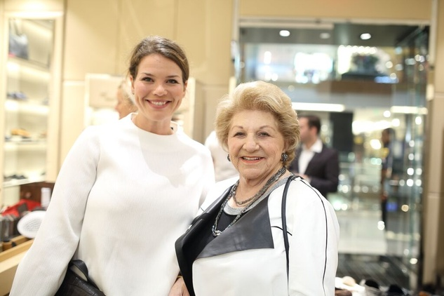 Tod's grand opening Jessica Phifer Minette Robinson