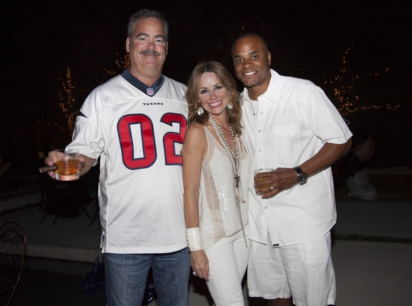 News, Texans White Out, Cal McNair, Lucinda Loya, Rick Smith,,Sept. 2012