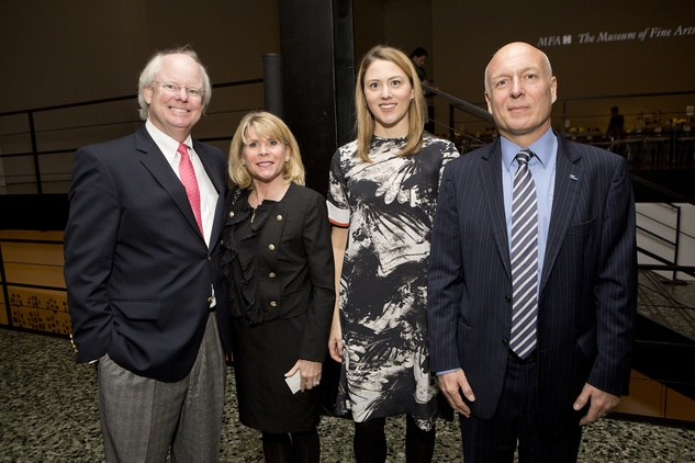 News, Shelby, Museum of Fine Arts donor dinner, Brady Carruth, Zane Carruth, , Jan. 2015