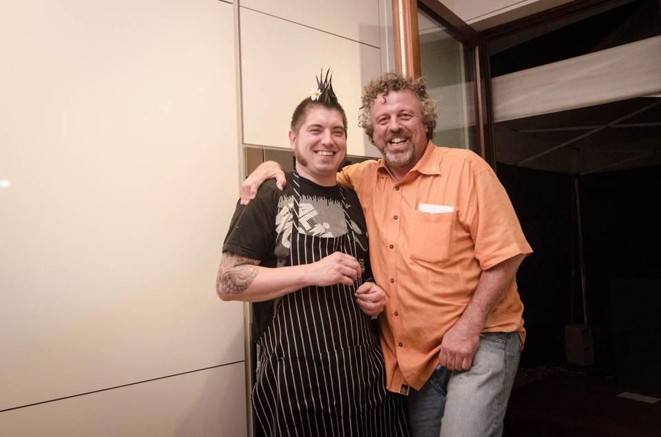 Happy Hemp BBQ  Kyle and Jack Allen