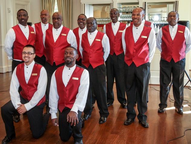 Houston, Salvation Army annual luncheon, Nov 2016, Salvation Army choir