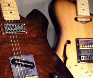 Moniker Guitars Texas BBQ Party December 2014 - Guitars Detail