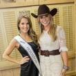 Cattle Baron's Ball 2015 Thamer Kay Favor (Miss Houston) and Chita Johnson