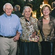 2 Peter Meyer, from left, Terry Hershey and Kathy Lord at the Bayou Preservation Association's Born on the Bayou party October 2013
