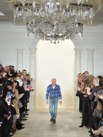 Clifford Fashion Week New York fall 2015 Ralph Lauren February 2015 designer