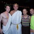 News, Bering Omega toga party, July 2015, William Finnorn, Jeff Gremillion, Jeremy Fain, Timothy Hamson