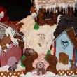 4 Landry's entry at the Lucky Dog Gingerbread Doghouse event December 2013
