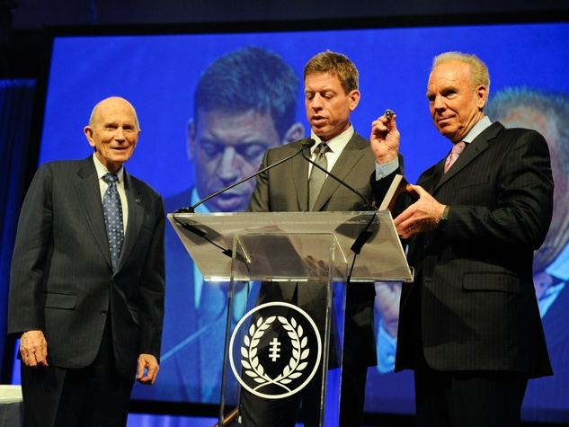 Dr. Cooper, Troy Aikman, Roger Staubach