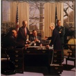 Mark Balma's Resolution depicting George Bush, Dick Cheney, James Baker, Colin Powell and Brent Scowcroft