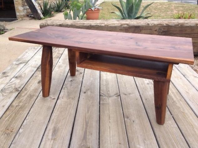 Aldo Valdes Bohm woodworking table