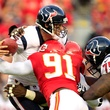 Case Keenum Chiefs Texans sack