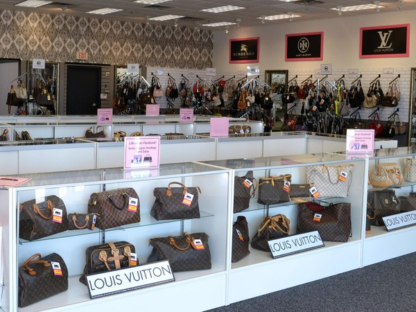 North Dallas Resale Shop Puts Louis Vuitton Handbags