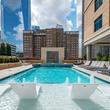 Houston, Aris Market Square, December 2017, 9th floor pool