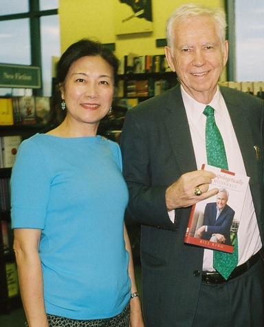 Lily and Charles Foster at the Bill King Book Signing November 2014