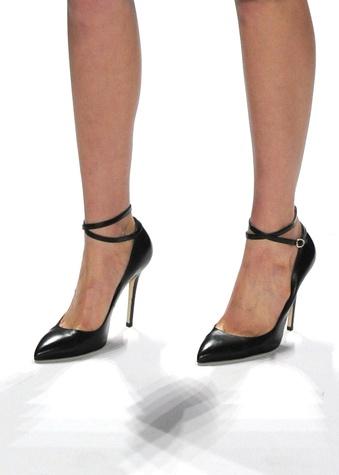 Carmen Marc Valvo, Mara shoe, Mercedes-Benz Fashion Week, February 2013