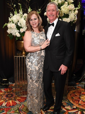 Winter Ball Donna and Norman Lewis