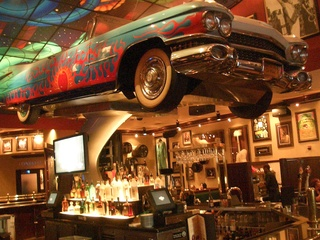 Places-Food-Hard Rock Cafe interior