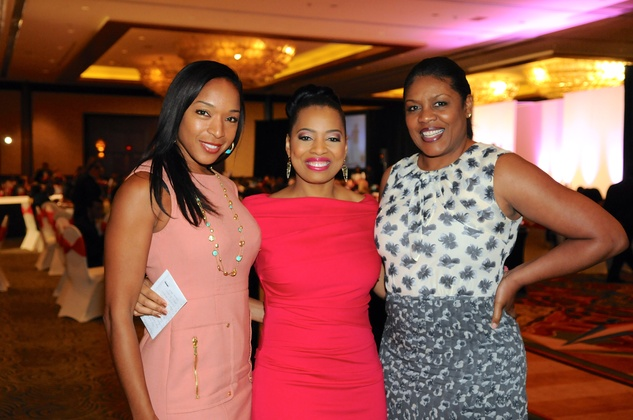 Houston, Kick Out Kidney Disease Luncheon, May 2015, Kicia Carpenter, Shawntell McWilliams, Caleen Allen