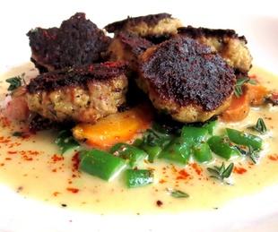 Feast San Antonio restaurant pork dish