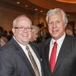 Greg Robertson, left, and Glen Rosenbaum at the Cornerstone Dinner February 2015