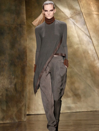 Fashion Week fall 2013, February 2013, Donna Karan, Look 26