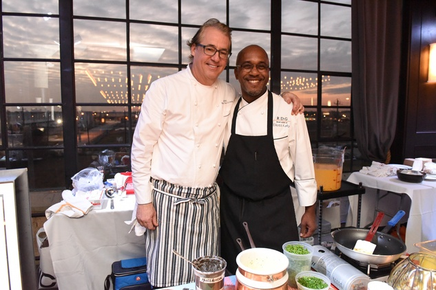 Houston, Truffle Chef Charity Challenge, January 2016, Chef Robert Del Grande, chef Elliott Kelly