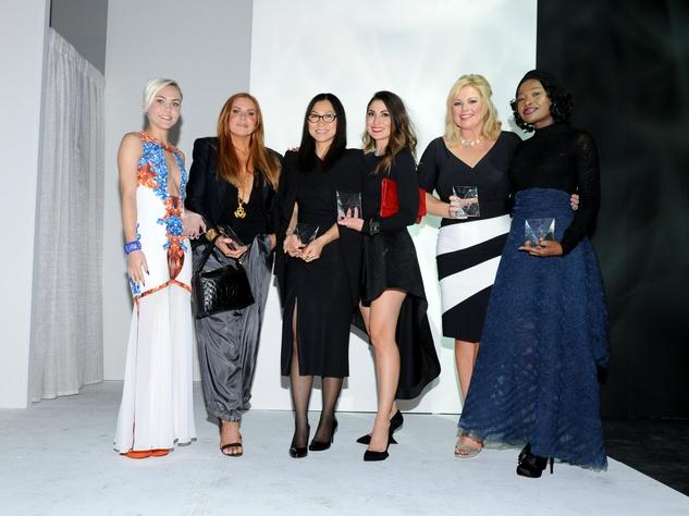 Holly Hmielewski, Shelly Musselman Design Award Scholarship winner, Dera Enochson, Mei-Chun Jau, Rising Star Honoree for Photography, Susie Straubmueller, Shay Geyer, Elizabeth Anyaa, Rising Star Honoree for Fashion