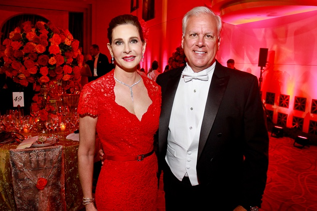 249 Lisa Frantz and James Stein Houston Grand Opera Ball April 2015