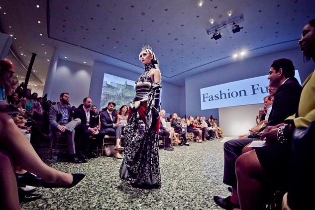 Houston, Fashion Fusion, June 2015, model