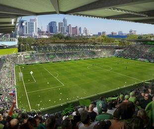 Butler Shores soccer stadium ATX