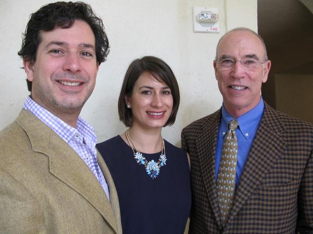 Rob, Dina, Michael Mondavi