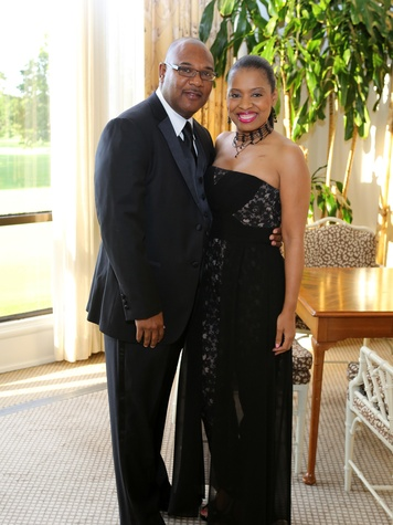 Keith and Shawntell McWilliams at the CancerForward Gala May 2014