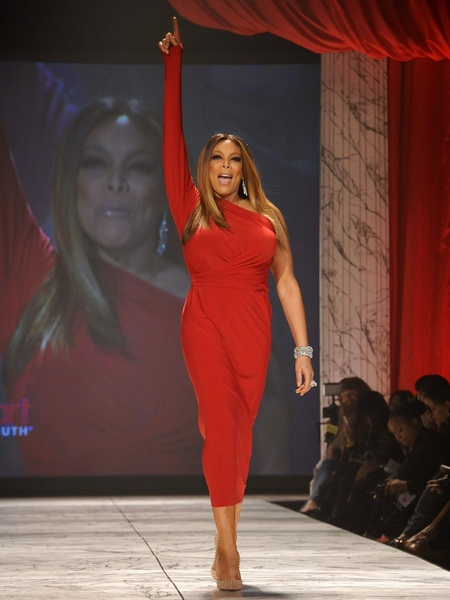 14, The Heart Truth 2013 Fashion Show, Wendy Williams wearing Kamali Kulture