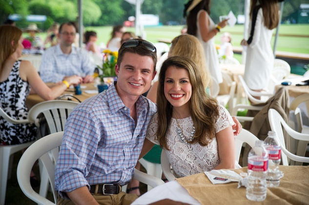 Yellowstone Academy,  polo party, May 2015 Kevin Pollak and Andrea Lopez