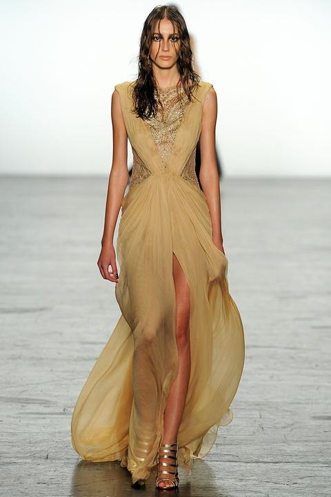 Tadashi Shoji fall 2016 gown look 37