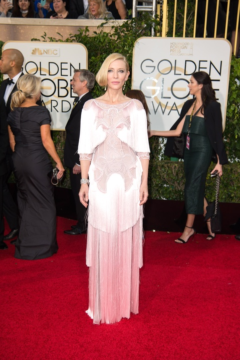 Cate Blanchett at Golden Globe Awards