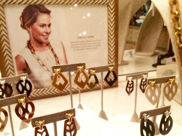 Jewelry at Akola Project in Deep Ellum