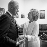 Bill and Hillary Clinton