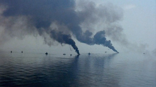 A scene from The Great Invisible about Deepwater Horizon disaster