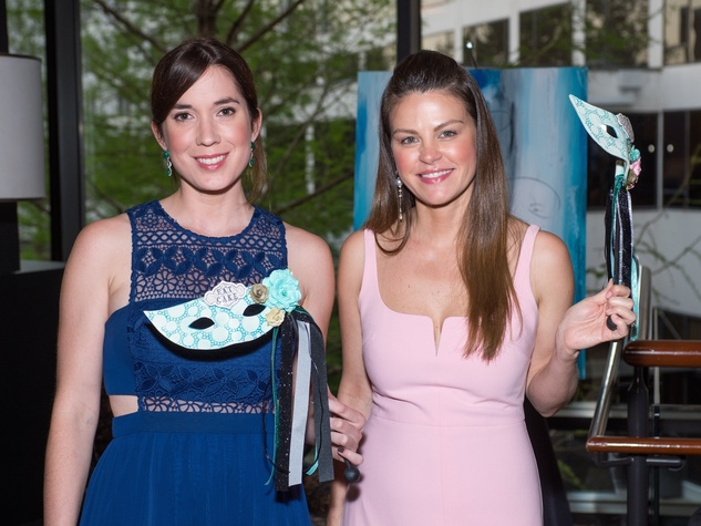 Ashley Tisius, Amanda Lundquist at Covenant House Gala 2017
